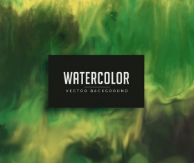 Watercolor flowing vector background 05