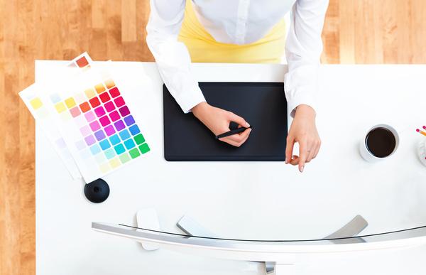 Working designer Stock Photo 01