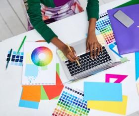 Working designer Stock Photo 02
