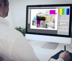 Working designer Stock Photo 04