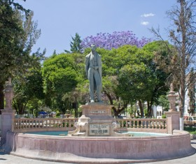 Zacatecas historic city Stock Photo 03