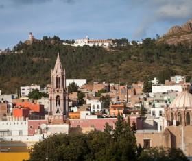 Zacatecas historic city Stock Photo 04