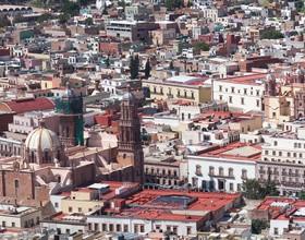 Zacatecas historic city Stock Photo 05