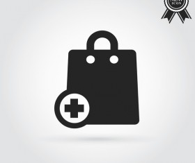 add shopping bag icon