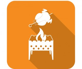 brazier roast chicken icon