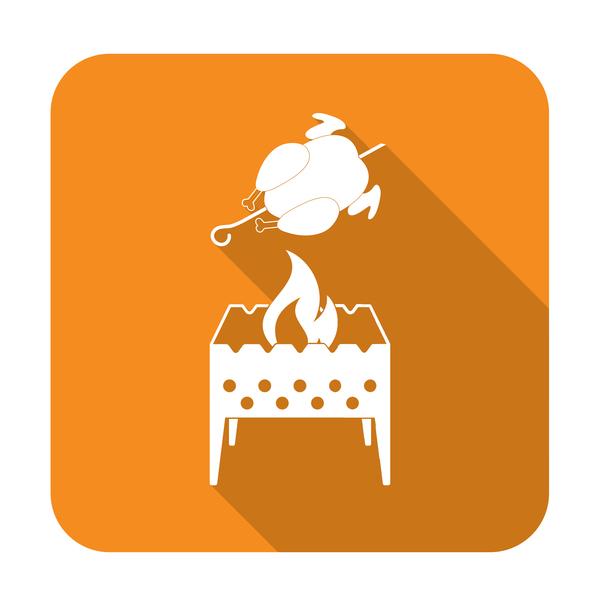 brazier roast chicken icon