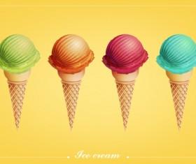 ice fruit vector