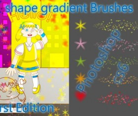 shape gradient photoshop brushes