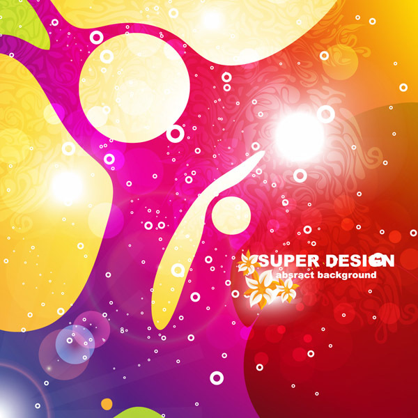 super design abstract background vector