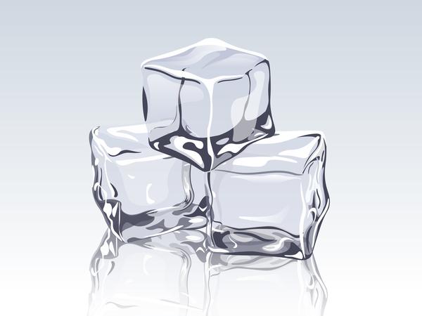 transparent ice cubes design vector free download transparent ice cubes design vector