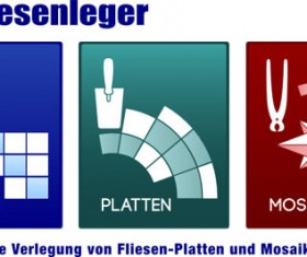 3 Kind creative logo design vector