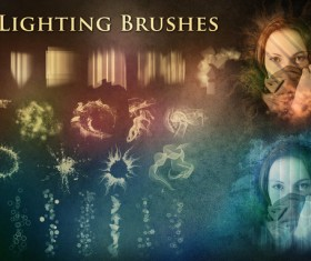 64 Kind Lighting Photoshop Brushes