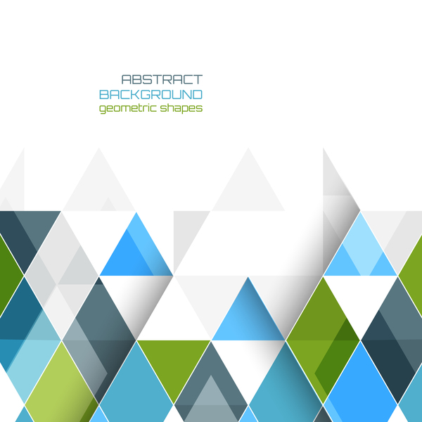 Abstract background geometric shape vectors material 02 free
