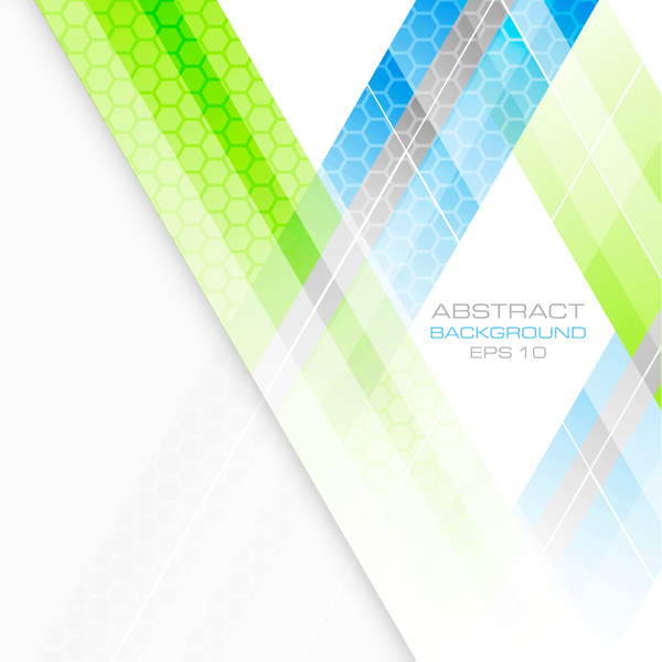 Abstract background with hexagon vectors 02