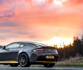 Aston MartinV12 Vantage S Stock Photo