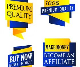 Best choice sale banners vector set 03