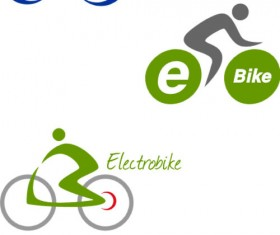 Bike logo design vector