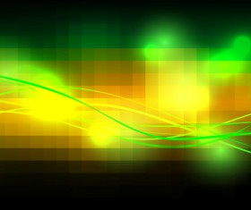 Blurs green background abstract vector 02