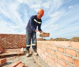 Bricklayer Stock Photo 12