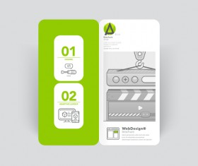 Brochure cover design creative vector 08