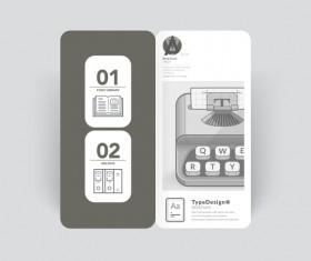 Brochure cover design creative vector 09