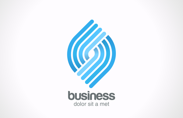Business logo design vectors