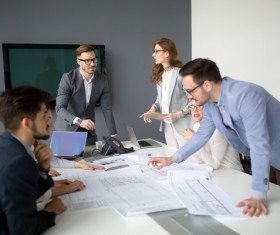 Business meeting Stock Photo 04