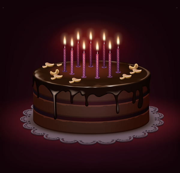 Birthday Chocolate Cake Free Download