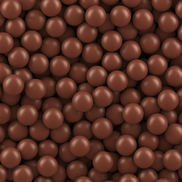 Chocolate sugar beans seamless pattern vector