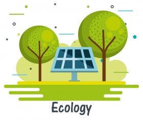 Concept environment ecology infographic template 09