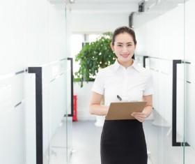 Confident workplace women Stock Photo