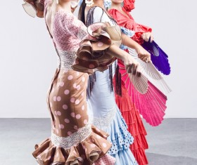 Dance performer Stock Photo 05
