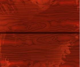 Dark color wood texture background vector 07