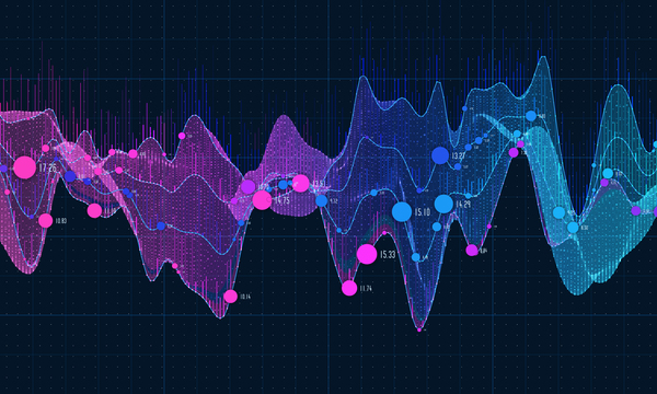 Data curve graphs vector template 01