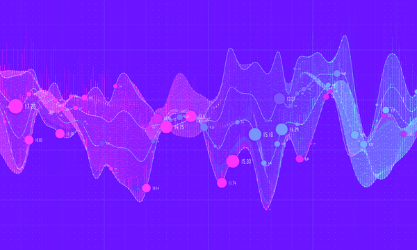 Data curve graphs vector template 03