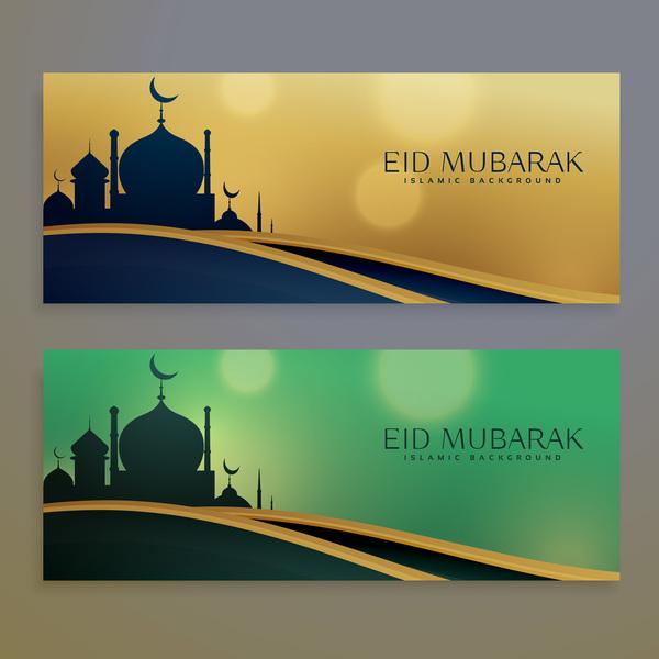 eid mubarak banners design vectors 01 free download eid mubarak banners design vectors 01