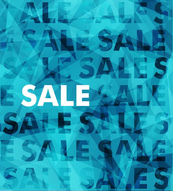 Fashion sale background design vector