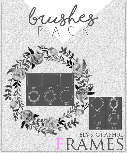 Frames Decor Photoshop Brushes