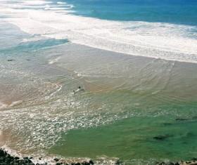 France Biarritz Beach Stock Photo