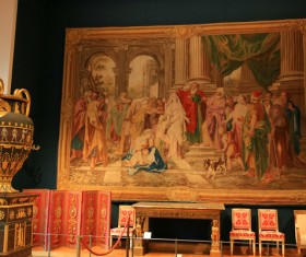 French Louvre mural HD picture