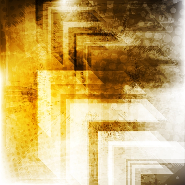 Golden grunge texture background vector