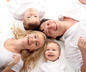 Happy family photo Stock Photo