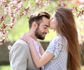 Happy forehead kiss HD picture