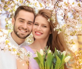 Happy sweet couple HD picture
