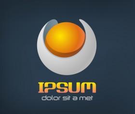 Ipsum logo design vector