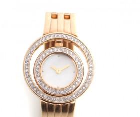 Ladies diamond watch Stock Photo 01