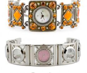 Ladies diamond watch Stock Photo 08