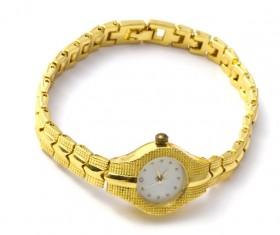 Ladies diamond watch Stock Photo 09