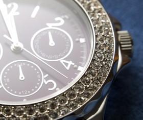 Ladies diamond watch Stock Photo 10