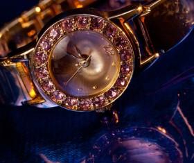 Ladies diamond watch Stock Photo 11